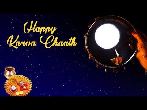 Happy Karwa Chauth💑💞||Chand🌙Ko Dekhu Vrat Main Todu😍||New Whatsapp Status For Karwa🌹Chauth💑😍