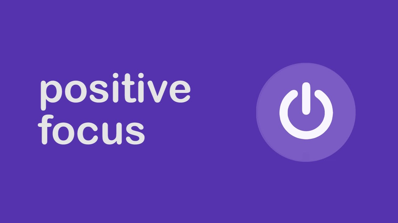 Positive Focus Just A Minute Guided Meditation 3 Youtube