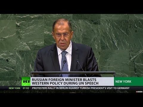'Lavrov's Patience Tested One Time Too Many': Russian FM Blasts Western Policy In UN Speech