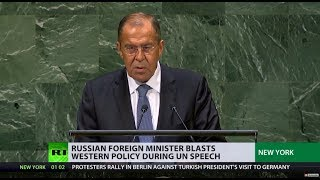\'Lavrov\'s patience tested one time too many\': Russian FM blasts Western policy in UN speech
