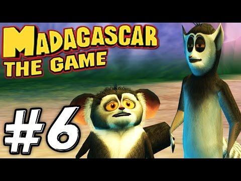 Прохождение игры Мадагаскар - Часть 6 - Спасение лемуров.
