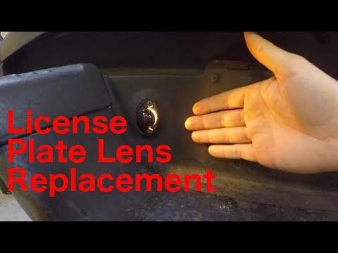 License Plate Light Lens Replacement 1999 Ram 1500 Gen2 Dodge