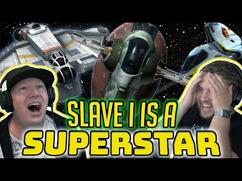 Slave 1 and Rebel Ships Are AMAZING After Ships 2.0 Update | Star Wars: Galaxy of Heroes