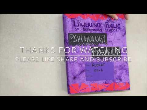 PSYCHOLOGY PROJECT CLASS 12 CBSE - SCHIZOPHRENIA - CASE