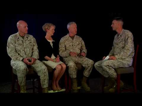 AFN Okinawa Interview with the Commandant, Sergeant Major, and the First Lady of the Marine Corps