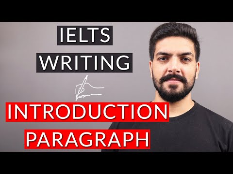 IELTS Writing Task 2: Introduction for Essays