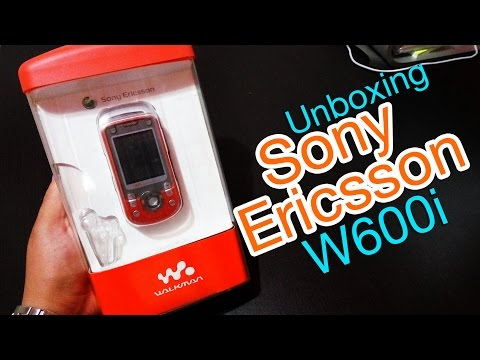 RETRO: Unboxing Sony Ericsson W600i (2005)