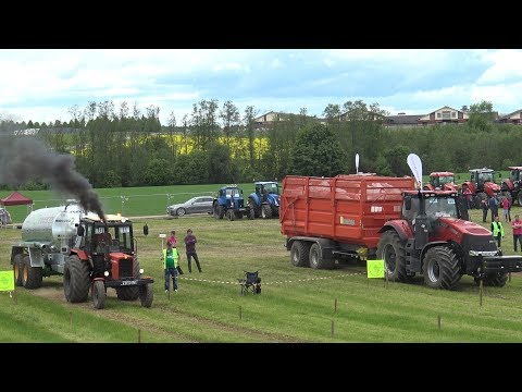 MTZ vs Case IH ,Tractor Show, Tractor Drag Race