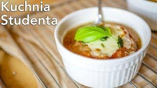 Zupa Cebulowa za 3zł | Kuchnia Studenta #35