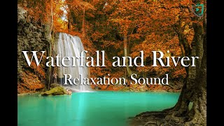 Waterfall and River Relaxation Sound. By Channel Home Video Media.