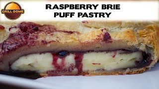 Grill Dome Kamados - Black Raspberry And Brie Puff Pastry