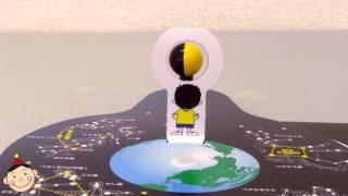 クラフテリオの理科教材第3弾!「月と太陽」の授業にピッタリ! 月と太...