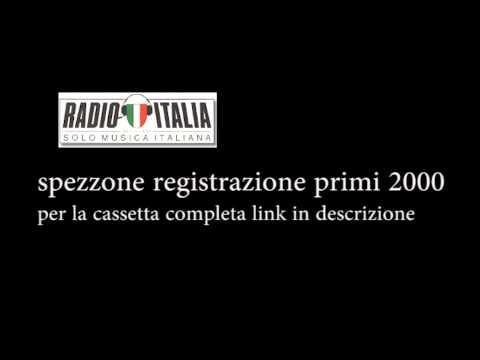 registrazione primi 2000 Radio italia solo musica italiana