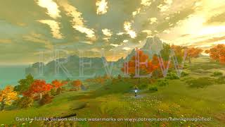 Zelda Breath of the Wild (Akkala Region Short Ver.) - 4K 60FPS Looping Background