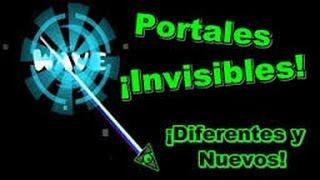 Como hacer portales invisibles | GEOMETRY DASH 2.0