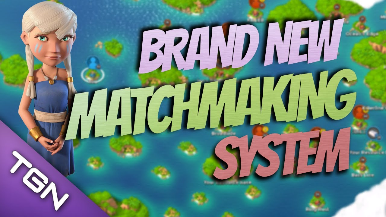 How matchmaking works in boom beach