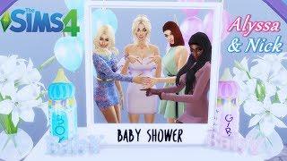 🎀 BABY SHOWER I SESJA CIĄŻOWA! 👶🏻 | Alyssa & Nick | Love Story #8 | The Sims 4