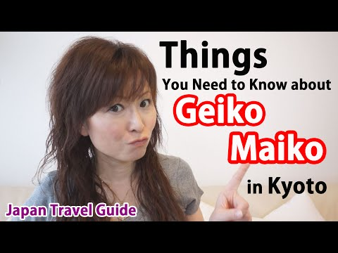 Japan Guide: How to meet with Geisha (Geiko) and Maiko in Kyoto: Japan Travel Guide