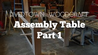 Assembly & Outfeed Table Part 1