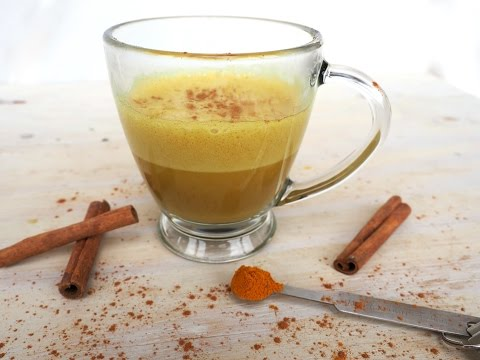 Drink Recipe: Homemade Golden Latte by Everyday Gourmet with Blakely