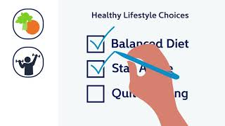 As you get older, your risk of diabetes will be lower if make healthy lifestyle choices like eating right or staying active. you're concerned about di...