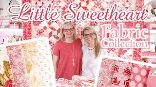 Little Sweethearts by Edyta Sitar of Laundry Basket Quilts| Fat Quarter Shop