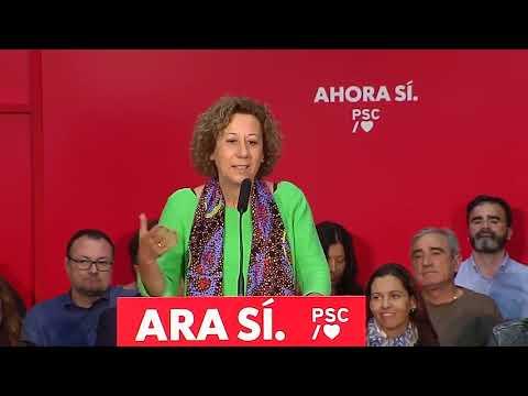 Belén García a l'Acte de municipalisme a Sant Joan Despí (3/11/2019)