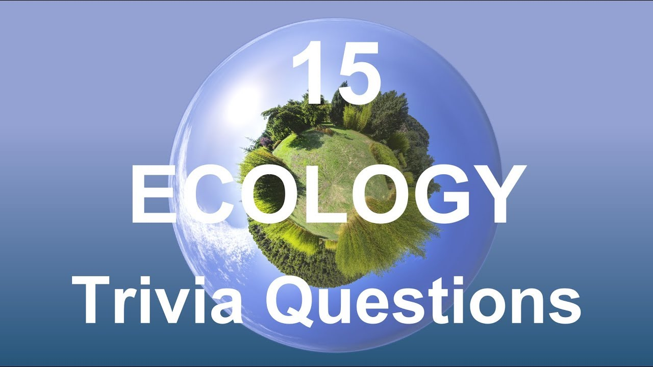 ecology questions and answers