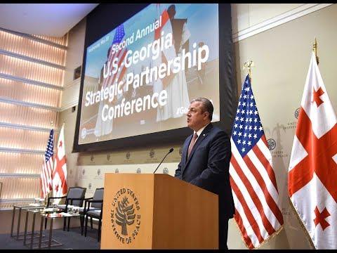 Second Annual U.S.-Georgia Strategic Partnership Conference: Keynote Address and Panel 1
