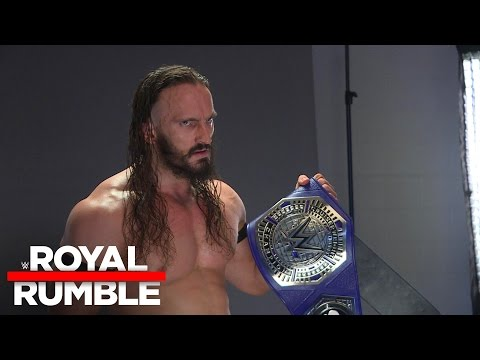 WWE Cruiserweight Champion Neville's backstage photo shoot: Royal Rumble Exclusive, Jan. 29, 2017