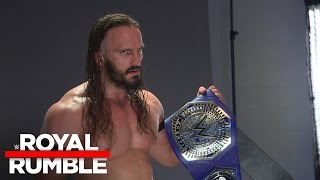 wwe cruiserweight champion neville s backstage photo shoot royal rumble exclusive jan 29 2017
