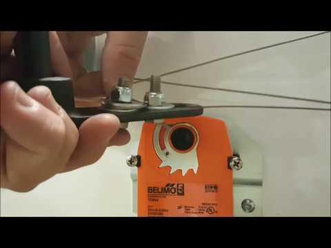 belimo actuator installation video
