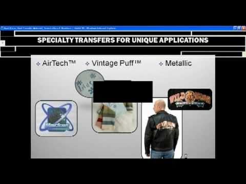 March 9 Webinar - Full Color Digital Transfers for Apparel
