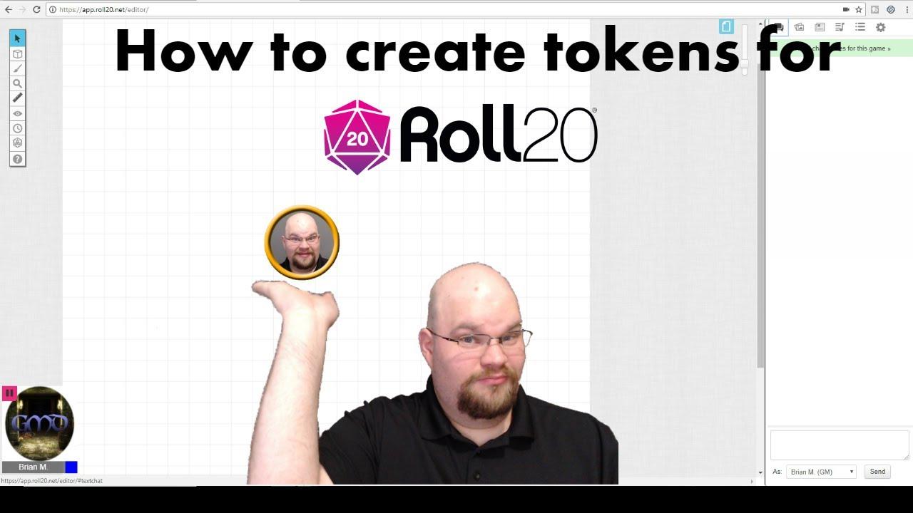 how to create a token