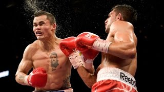 Marcos Maidana vs Amir Khan highlights