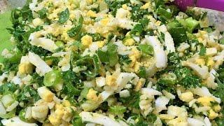 НАЧИНКА ДЛЯ ПИРОЖКОВ  и пирогов  с яйцом и зеленым луком. Очень вкусная!