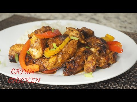 How To Make Cajun Chicken| Easy Recipe
