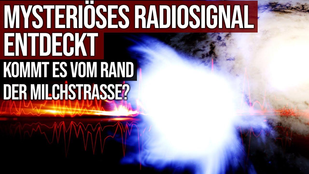 Mysteriöses Radiosignal entdeckt - Kommt es vom Rand der Milchstrasse?