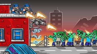 ULTIMATE ZOMBIE BASE DEFENSE! (Minecraft Zombie Challenge)