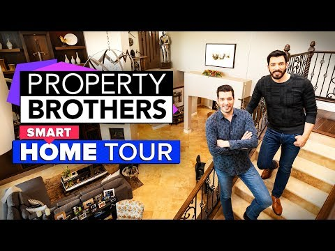 We got to tour the Property Brothers' property
