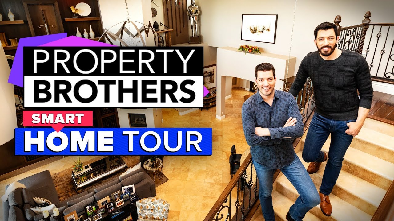 We Got To Tour The Property Brothers Property Youtube
