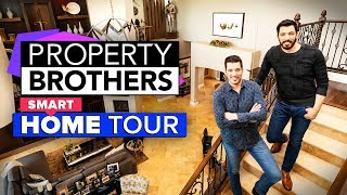 A proper tour of the Property Brothers' property