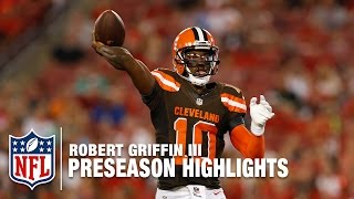 RGIII 2016 Preseason Full Highlights | Cleveland Browns | NFL