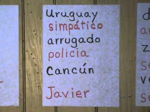 Spelling words in Spanish - YouTube - spanish speller