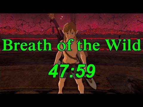 Breath of the Wild Any% Speedrun in 47:59 (No Amiibo)