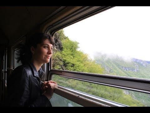 Bar - Belgrade Railway along Moraca Canyon (Traveline in Montenegro)