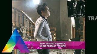 INSERT PAGI - Noah Syuting Video Klip Single Perdana Terbaru