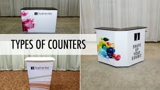 Counters for Your Trade Show Booth