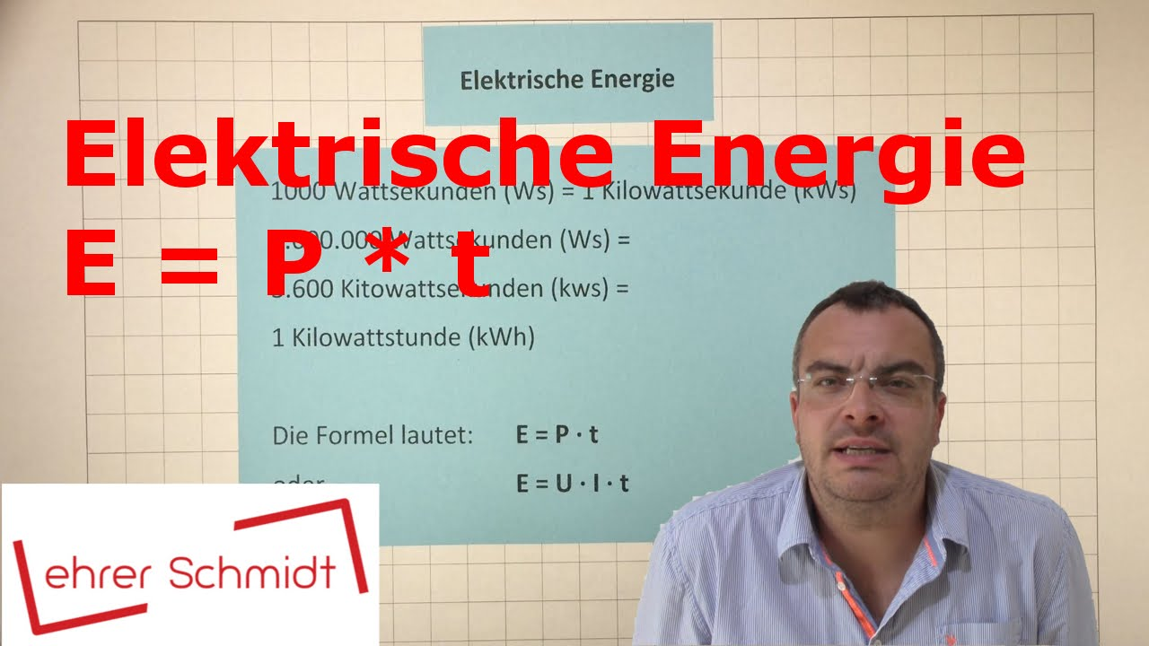 Elektrische Energie   Elektrizität   Physik   Lehrerschmidt