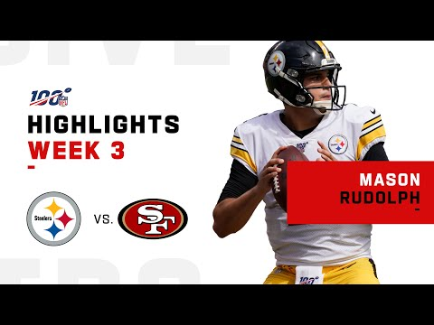 Every Mason Rudolph Play from 1st Career Start | NFL 2019 Highlights